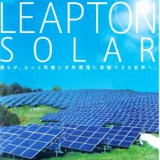 Солнечные панели Leapton - японское качество от производителя