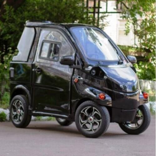 ELMIZ mini - украинский электромобиль за 5000 у.е.