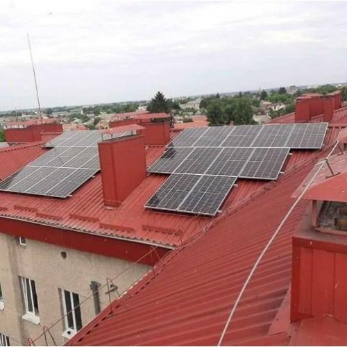 Солнечные электростанции на крышах украинских медучреждений