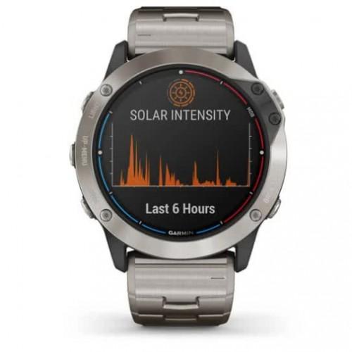 Quatix 6X Solar - умные часы с солнечной подзарядкой