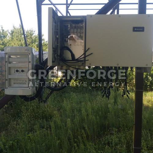 Солнечная станция 33 кВт. г. Николаев