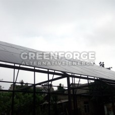 Сетевая солнечная станция 11 кВт. г. Николаев