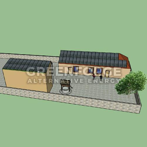 Сетевая станция на 17 кВт. г. Николаев