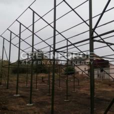 Сетевая солнечная станция 32 кВт под Зеленый тариф