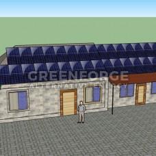 Сетевая солнечная станция 12 кВт по Зеленый тариф