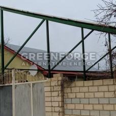 Сетевая солнечная станция 34 кВт г. Николаев